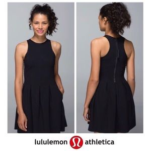 Lululemon Black Here to There Tennis Dress
